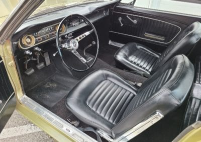 1965 Gold Ford Mustang 3spd For Sale