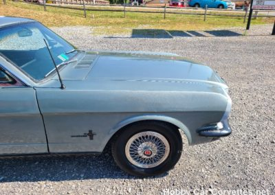 1966 Gray Ford Mustang For Sale