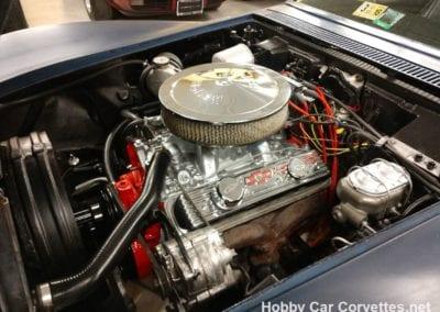 1968 International Blue Corvette Stingray Convertible For Sale