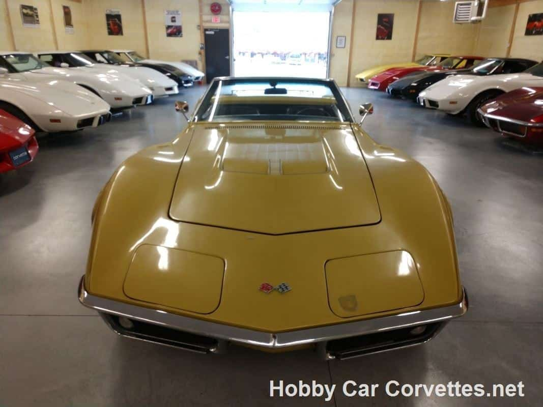 1968 Gold Corvette Convertible Automatic For Sale