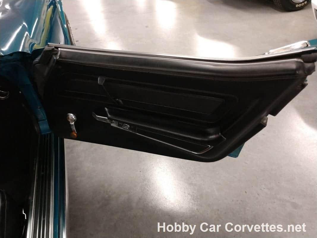1972 Turquoise Corvette Convertible Manual Trans For Sale