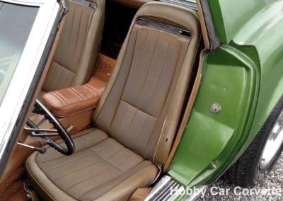 1972 Survivor Elkhart Green Corvette T Top Stingray 4spd