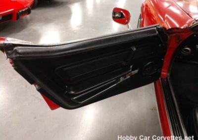 1972 Red Corvette Stingray Convertible Black Int Auto