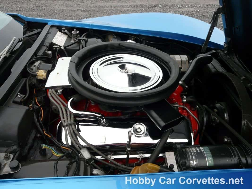 1973 Medium Blue 454/425HP Corvette