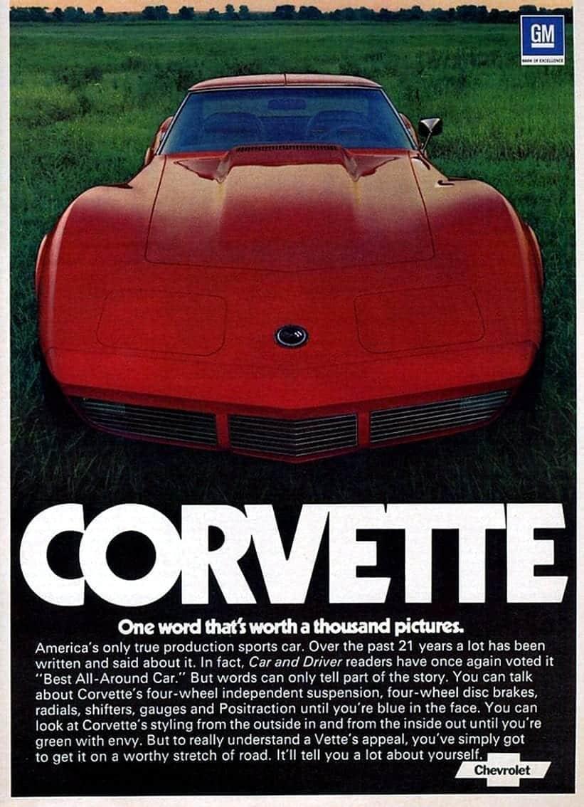 C3 Vette Series: 1974 Corvette