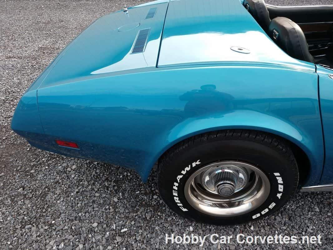 1974 Medium Blue L82 Corvette Stingray Convertible