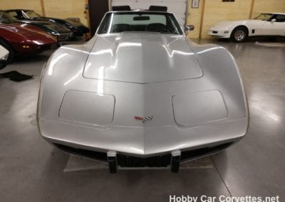 1976 Silver Corvette Stingray For Sale
