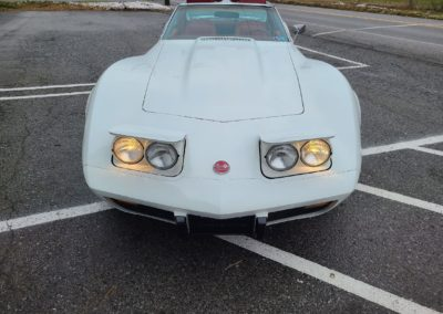 1976 White Corvette For Sale