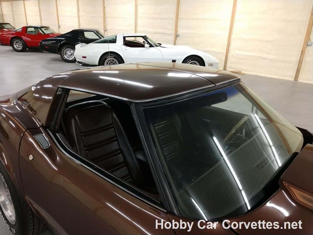 1977 Brown Corvette Automatic For Sale