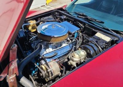 1977 Dark Red Corvette Hot Rod For Sale
