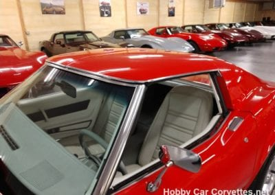 1977 Red Corvette 4spd White Interior