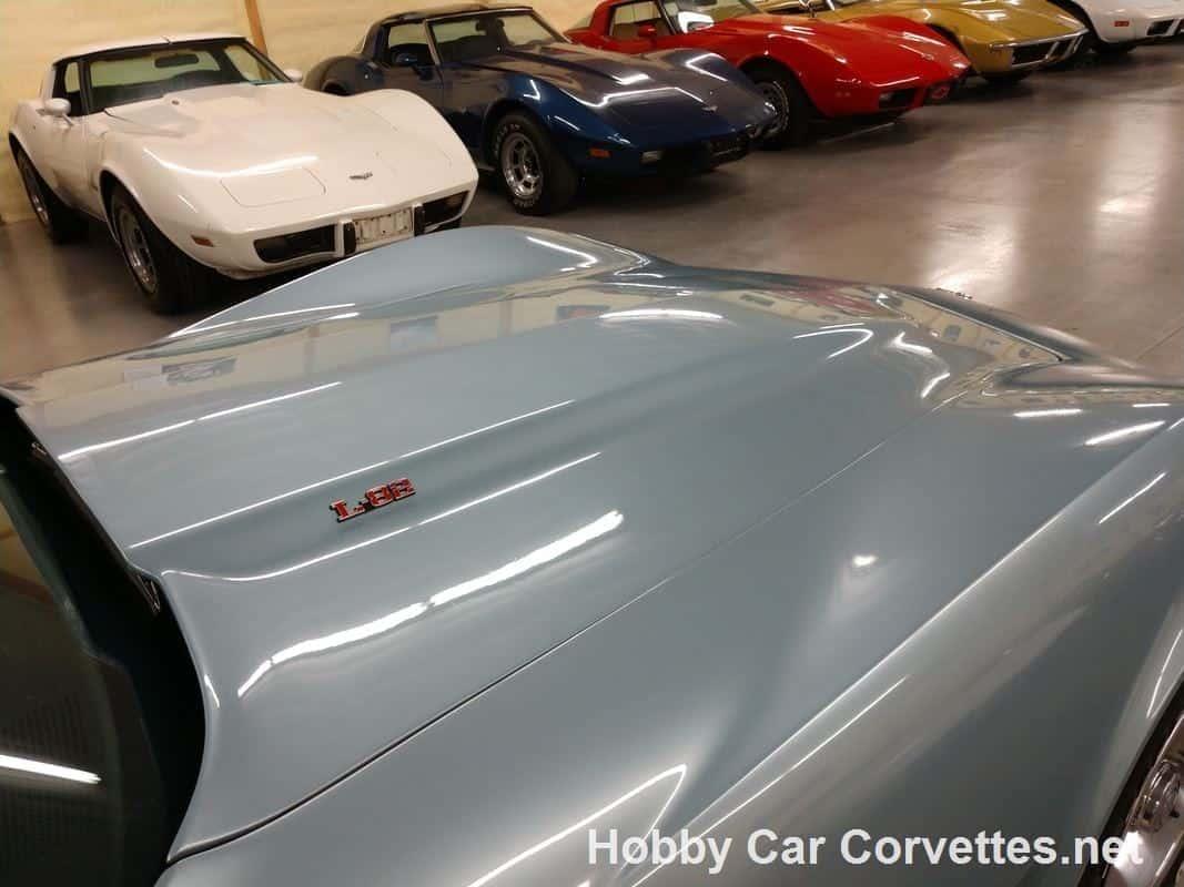 1977 Light Blue Corvette L82 4spd For Sale