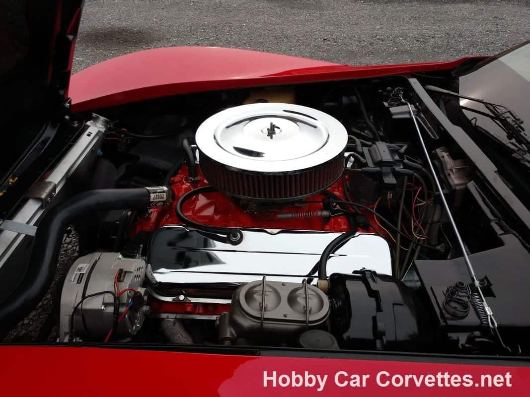 1978 Red Corvette Big Block Four Speed For Sale