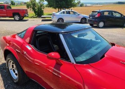 1979 Red Corvette 4spd Hot Rod