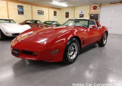 1980 Real Red L82 Corvette T Top