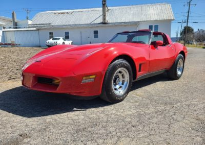 1980 Real Red Corvette 4spd T Top