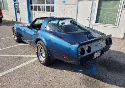 1981 Blue Corvette Blue Interior For Sale