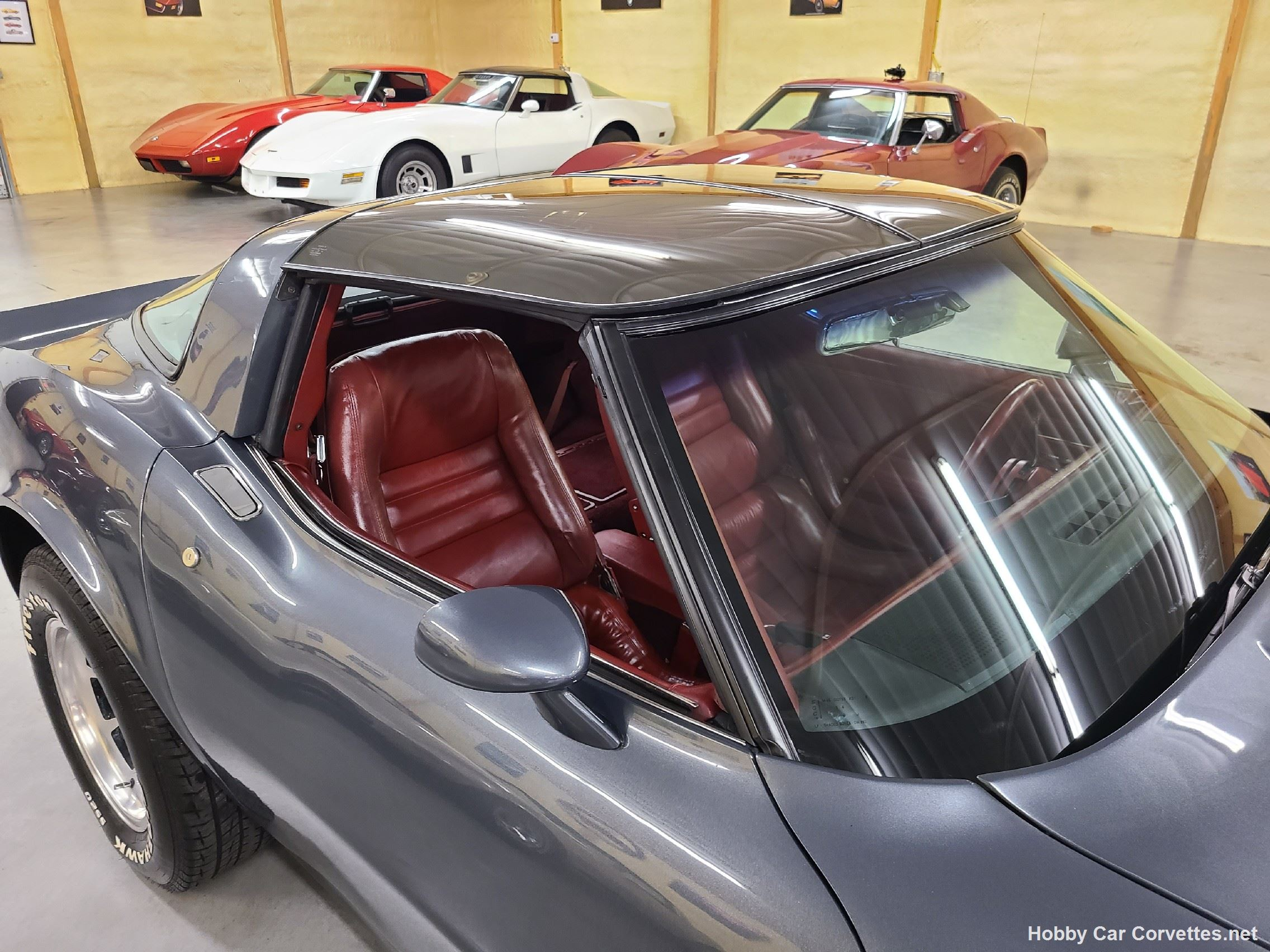 1981 Charcoal Corvette Red Int Hot Rod For Sale