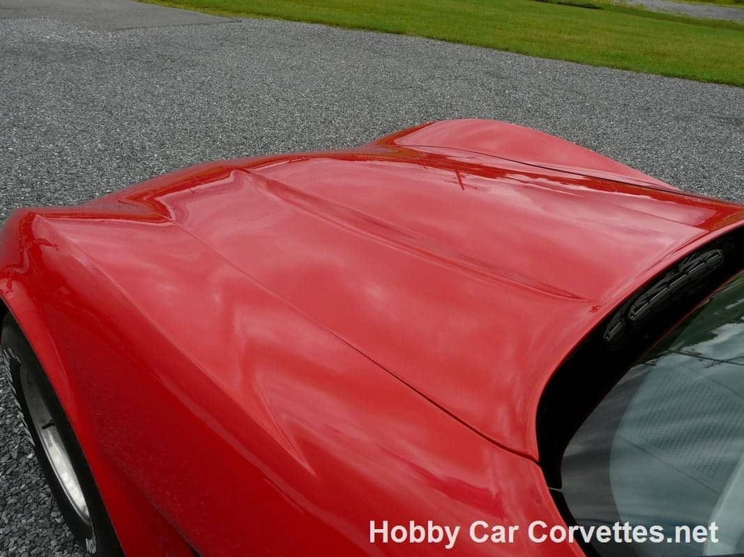 1981 Red Corvette 4spd Silver int For Sale