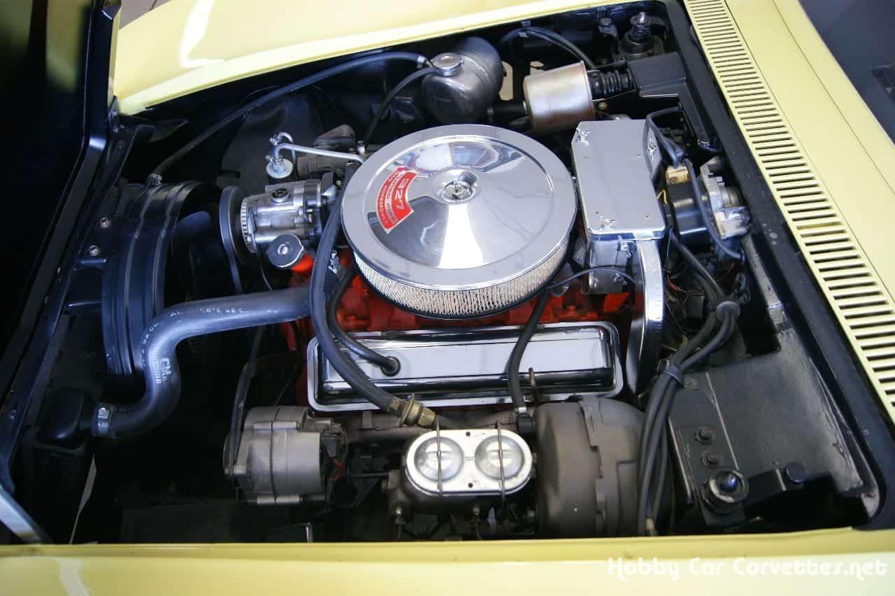 1968 Safari Yellow Corvette Stingray Convertible C3