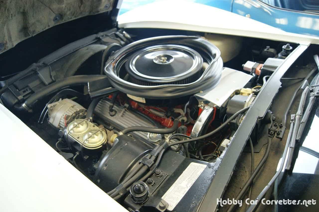 1974 Classic White L82 Corvette Stingray Convertible