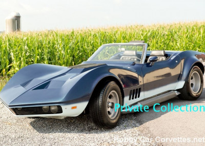 1969 Blue Mako Shark Corvette Convertible
