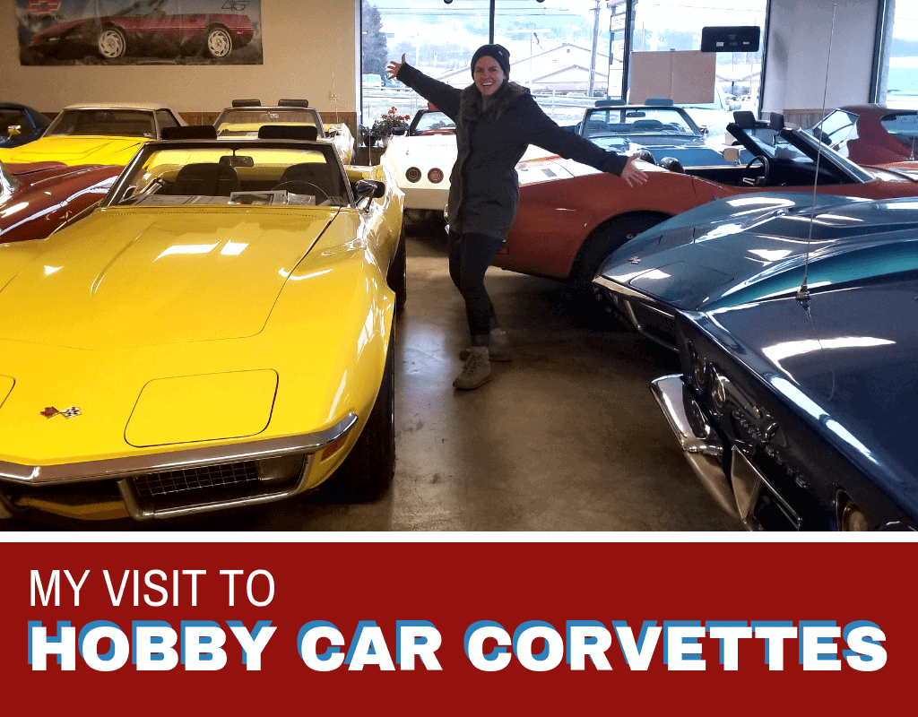 Hobby Car Corvettes Private Collection Showroom