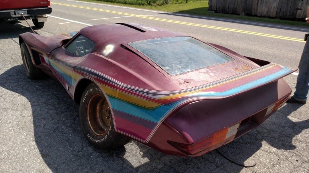 """Saten's Wing"" Corvette Custom Mid Engine Gullwing Doors"
