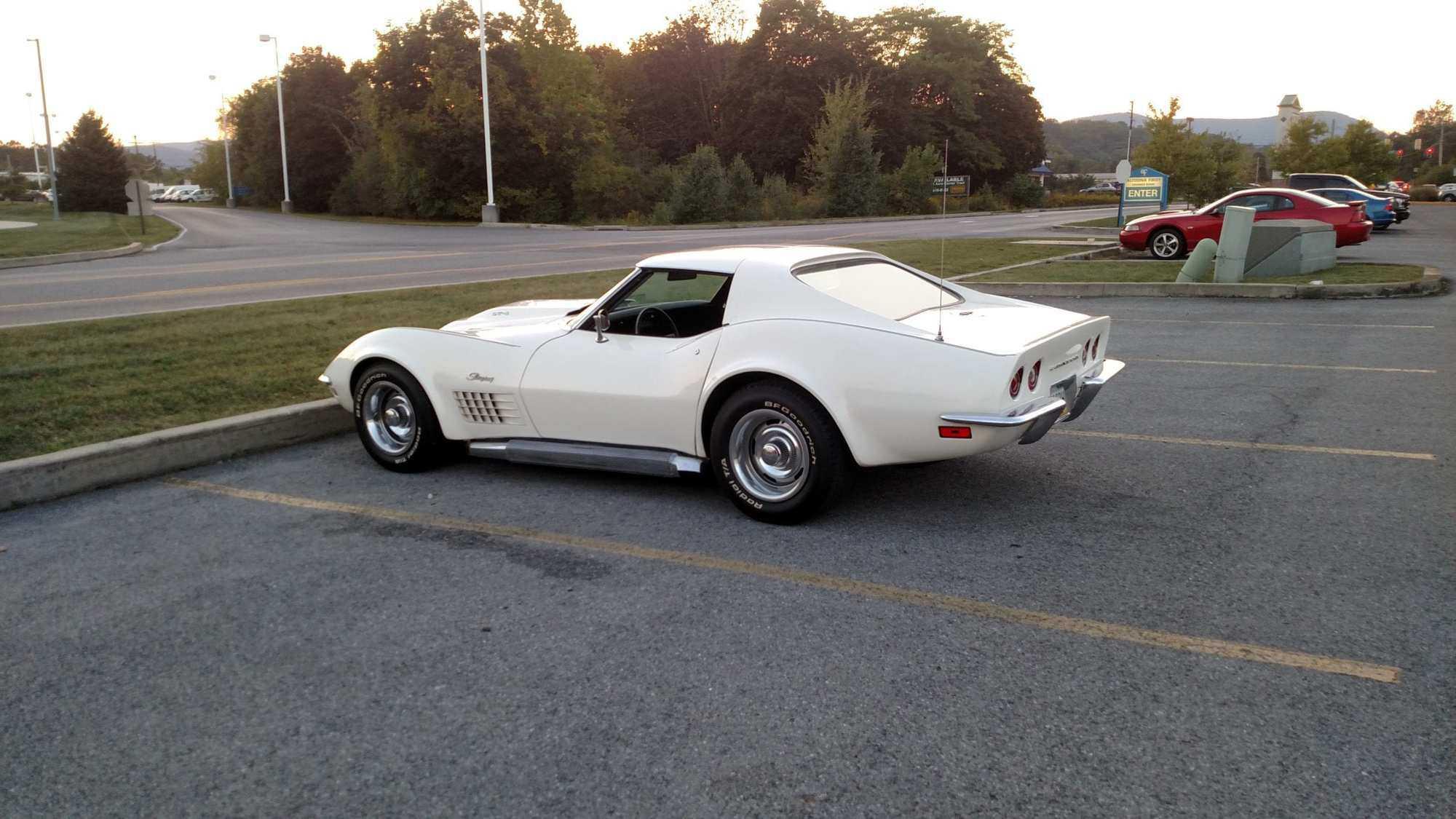 1970 Cortez Silver Baldwin Motion LT-1 Corvette T Top