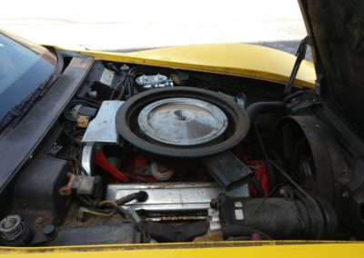 1974 Bright Yellow Corvette Convertible Manual Transmission For Sale