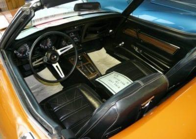 1972 Ontario Orange Corvette Stingray Convertible Automatic