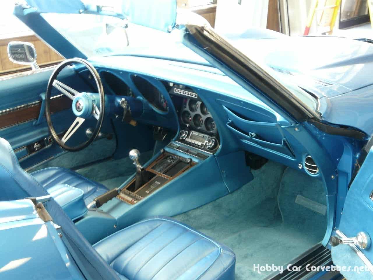 1970 Mulsanne Blue LT1 Corvette Stingray Convertible