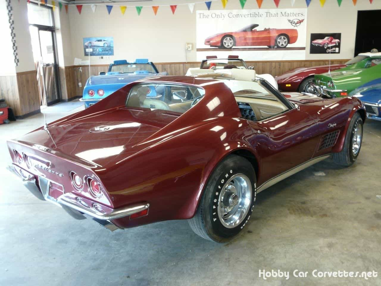 1970 Marlboro Maroon LT1 Corvette Stingray T Top 4spd
