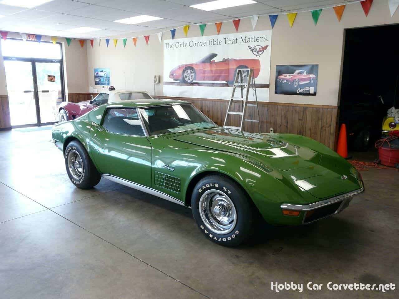 1972 Elkhart Green LT1 Corvette Stingray
