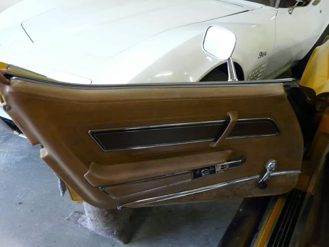 1973 Metallic Yellow Corvette L82