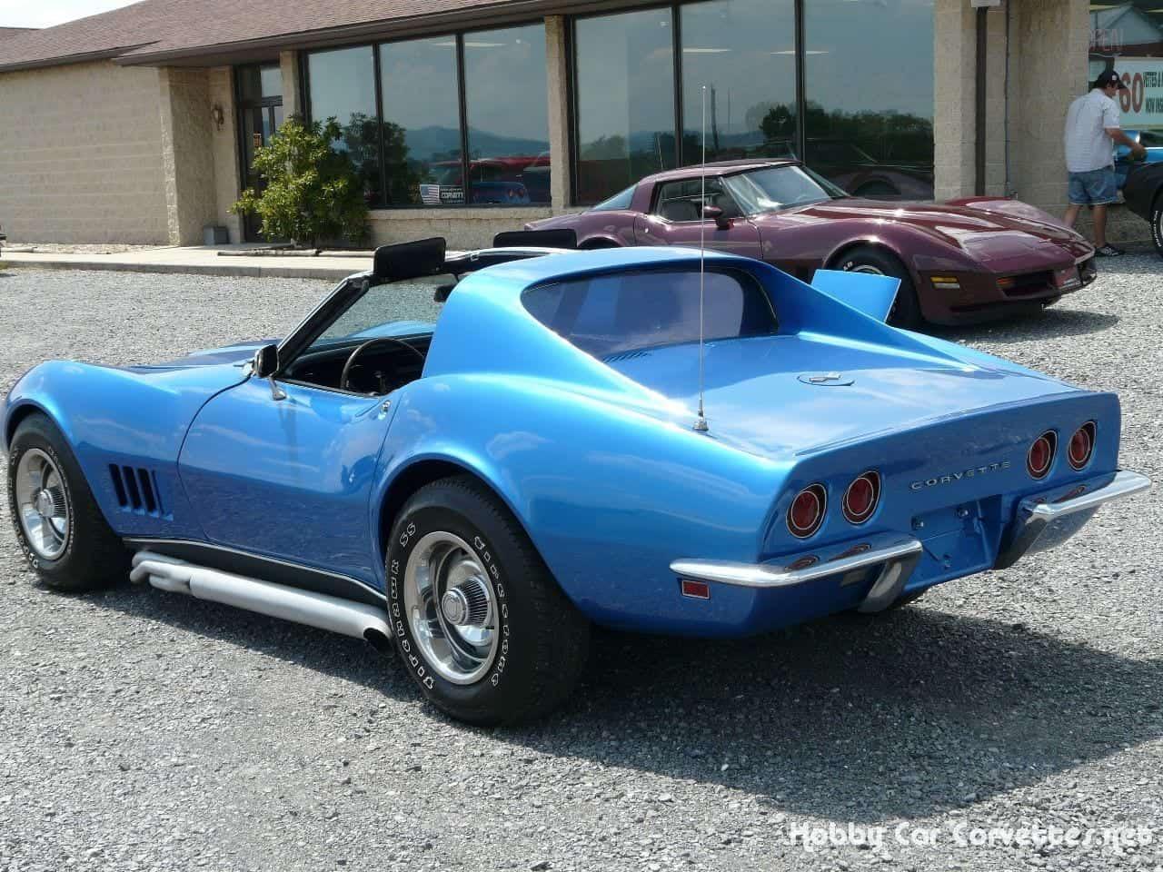 1968 Blue Corvette 350Hp 4spd