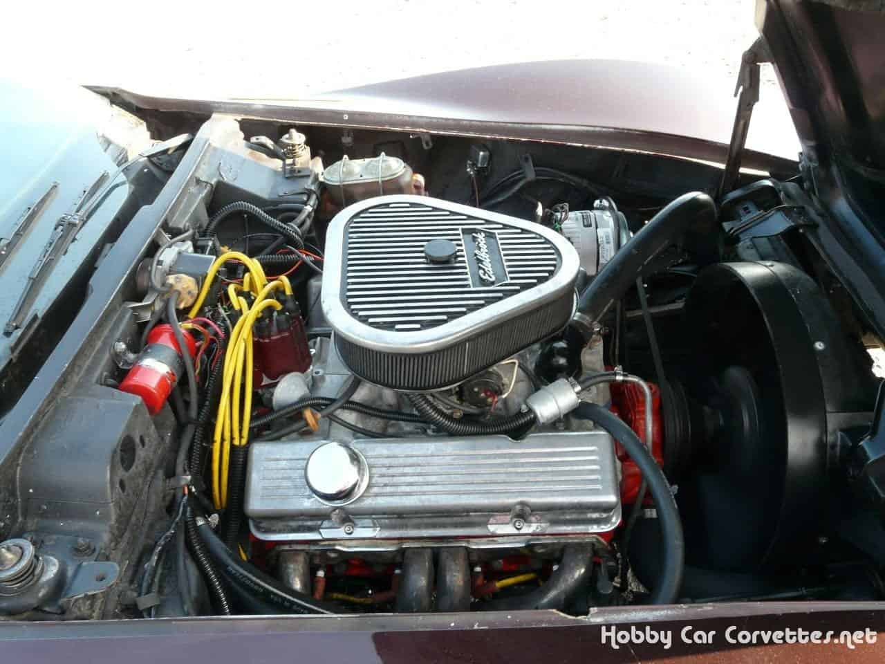 1970 Dark Claret Corvette Convertible Stingray
