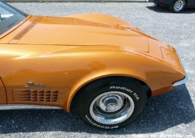 1972 Ontario Orange Corvette T Top Stingray