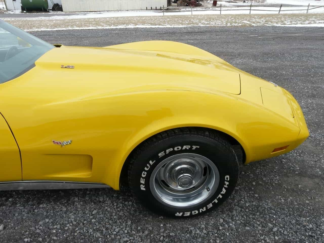 1977 Yellow L82 4spd Corvette T Top