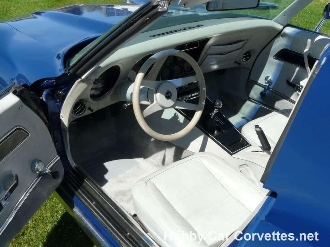 1977 Dark Blue Corvette Stingray 4spd 35K original Miles