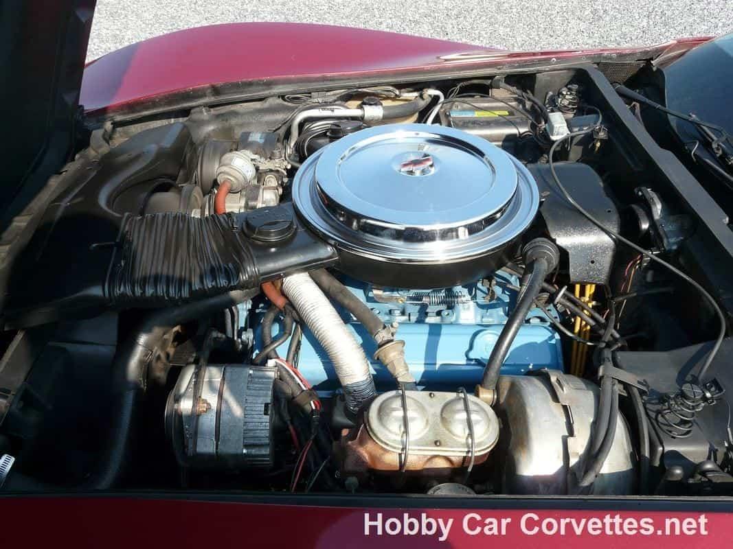 1980 Maroon Metallic Corvette 4spd For Sale