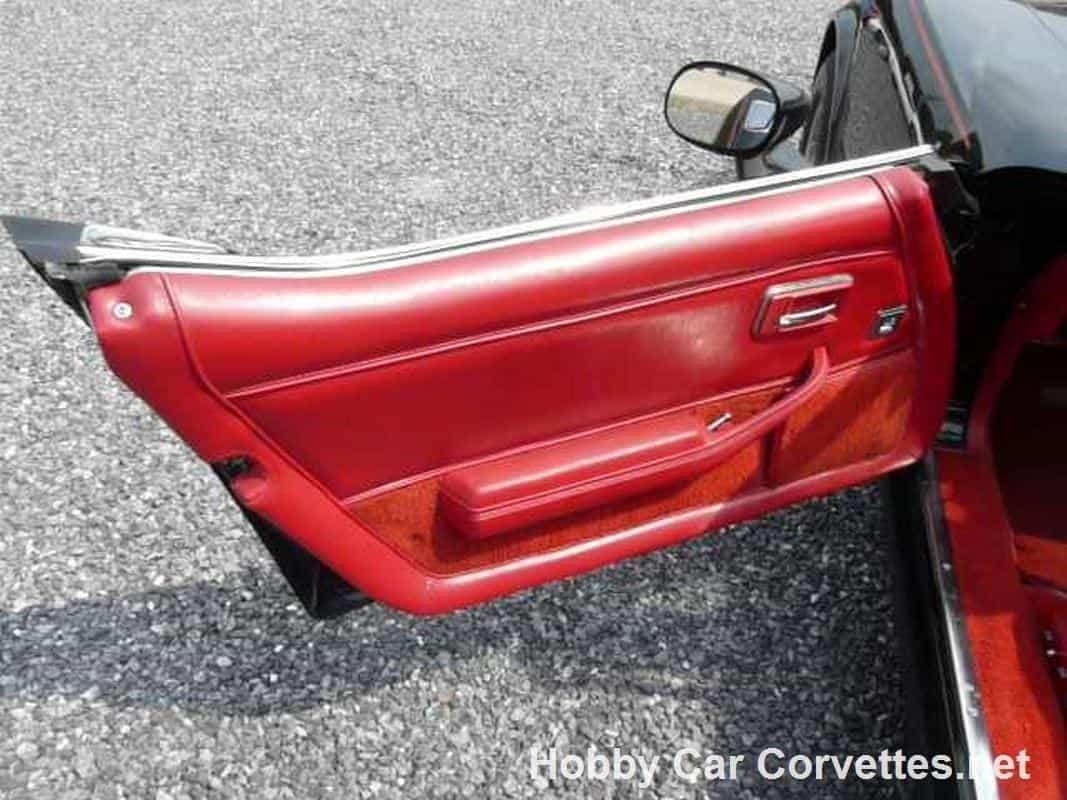 1981 Black Big Block Corvette T Top