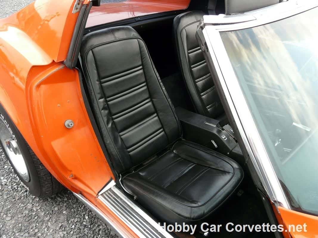 1976 Orange Flame Corvette L82 4spd Stingray For Sale