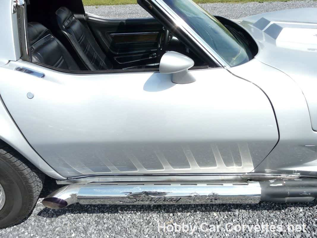 1973 Silver Mako Shark Corvette 454 Big Block For Sale