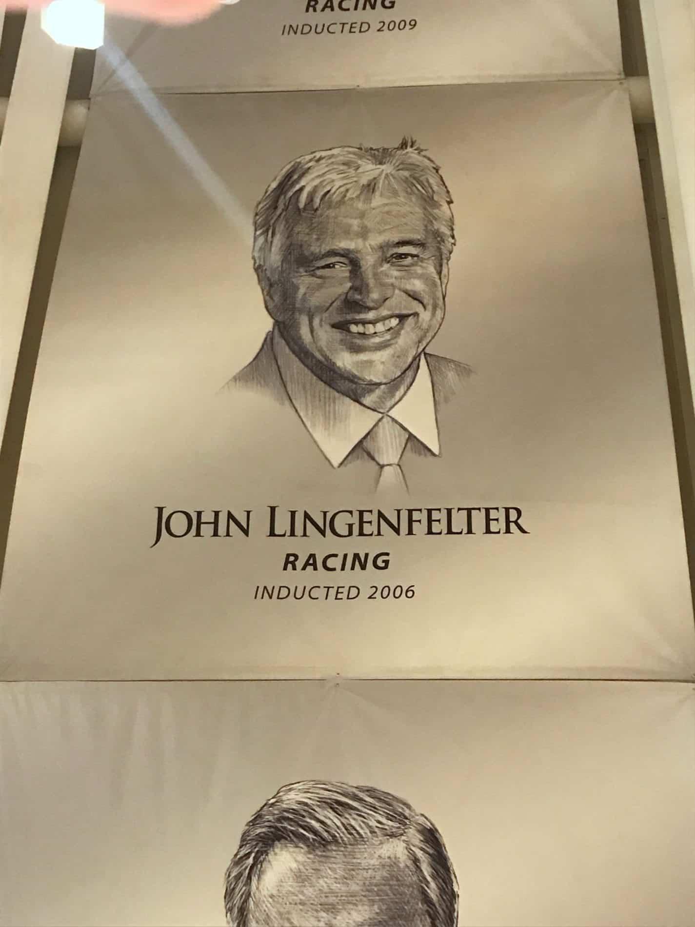 john_lingenfelter_racing_plaque_corvette_hall_of_fame