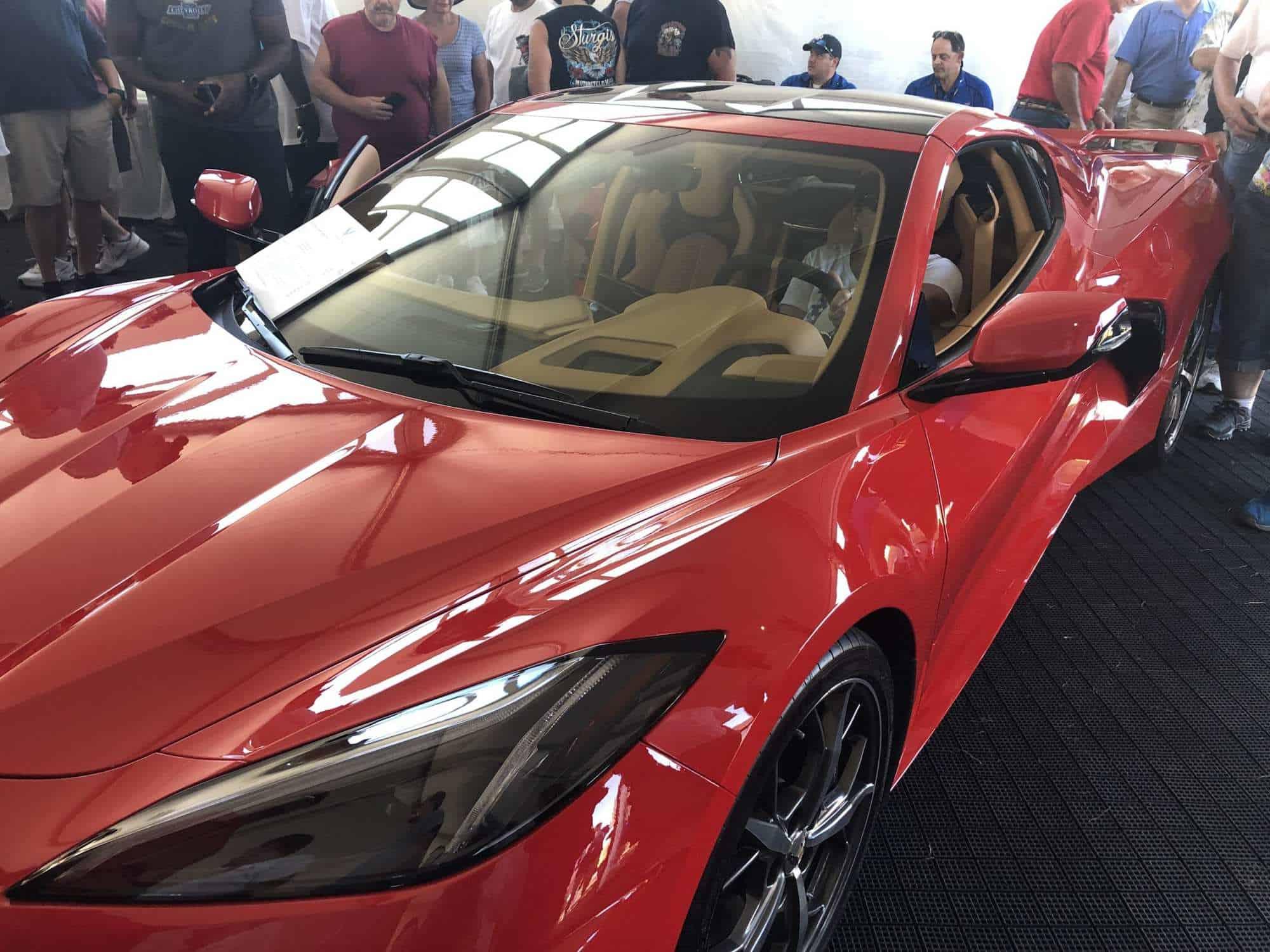 Red 2020 Corvette
